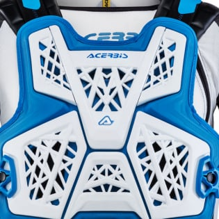 Acerbis Galaxy White Blue Body Armour Image 2