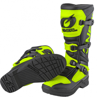 ONeal RSX Black Neon Yellow Motocross Boots Image 3