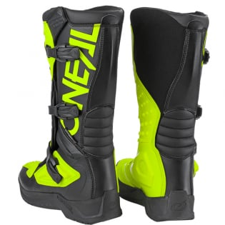 ONeal RSX Black Neon Yellow Motocross Boots Image 4