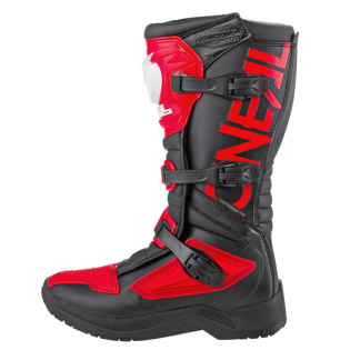 ONeal RSX Black Red Motocross Boots Image 2