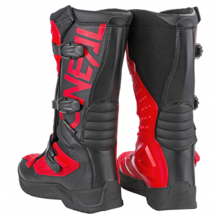 ONeal RSX Black Red Motocross Boots Image 4