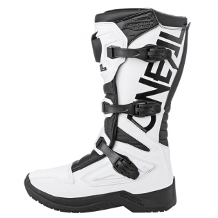 ONeal RSX White Black Motocross Boots Image 2