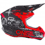 ONeal 5 Series Polycrylite HR Black Red Helmet