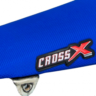 CrossX UGS Wave Husqvarna Blue Seat Cover Image 4