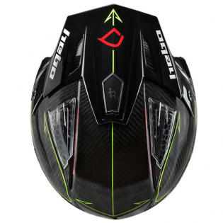 Hebo Zone 4 Carbon ll Fibre Black Trials Helmet Image 2