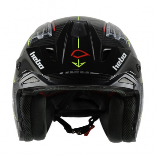 Hebo Zone 4 Carbon ll Fibre Black Trials Helmet Image 4