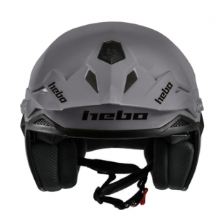 Hebo Zone 5 Mono Grey Trials Helmet Image 3