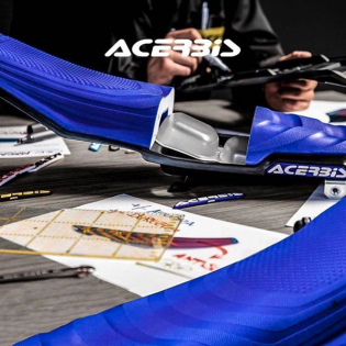 Acerbis Racing X-Air Husqvarna Blue Black Seat Image 2