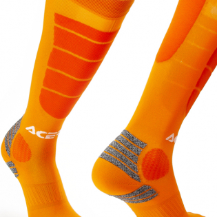 Acerbis Impact Orange Motocross Socks Image 3