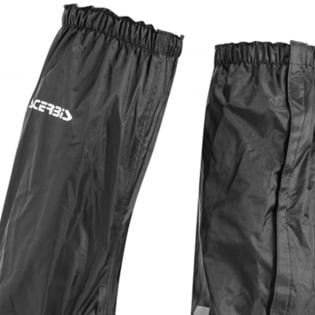 Acerbis Rain H20 Black Boot Covers Image 2
