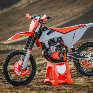 Acerbis Plastic Kit - KTM SX - Orange Grey Image 2