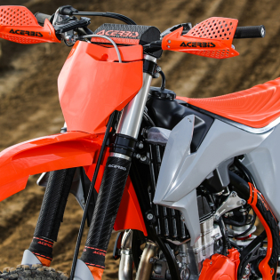 Acerbis Plastic Kit - KTM SX - Orange Grey Image 3