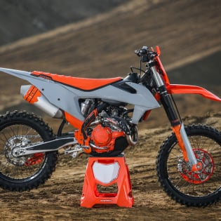 Acerbis Plastic Kit - KTM SX - Orange Grey Image 4