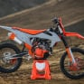 Acerbis Plastic Kit - KTM SX - Orange Grey