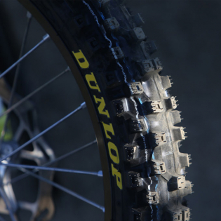 Dunlop Geomax MX53 Tyre - Front Image 2