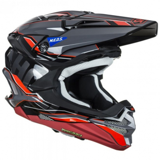 Shoei VFX-WR Allegiant TC1 Red Helmet Image 3