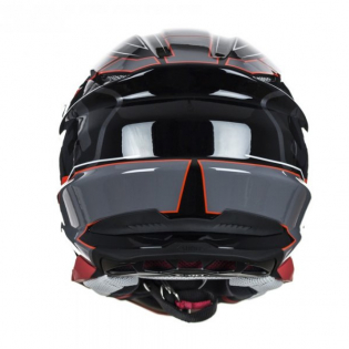 Shoei VFX-WR Allegiant TC1 Red Helmet Image 4