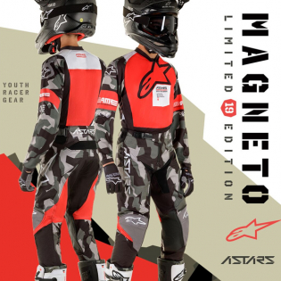 Alpinestars Kids Racer Ltd Edition Le Magneto Kit Combo Image 2