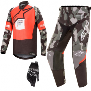 Alpinestars Kids Racer Ltd Edition Le Magneto Kit Combo Image 4