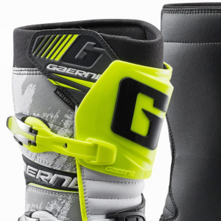 Gaerne Balance Classic White Yellow Black Trials Boots Image 2