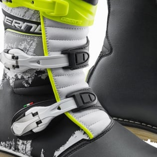 Gaerne Balance Classic White Yellow Black Trials Boots Image 3
