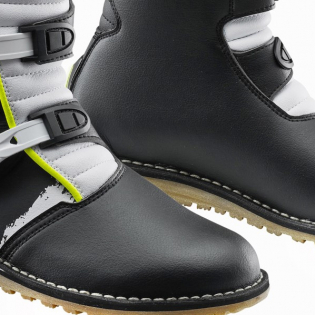 Gaerne Balance Classic White Yellow Black Trials Boots Image 4