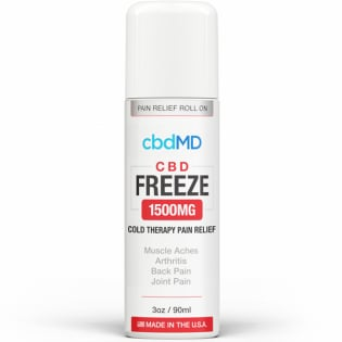 CbdMD CBD Freeze Pain Relief 3oz Roller 1500mg Image 3