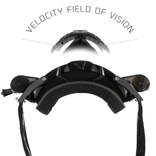 Leatt 5.5 Velocity Black Clear Lens Roll Off Goggles Image 2