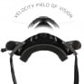 Leatt 5.5 Velocity Black Clear Lens Roll Off Goggles