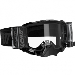 Leatt 5.5 Velocity Black Clear Lens Roll Off Goggles Image 4