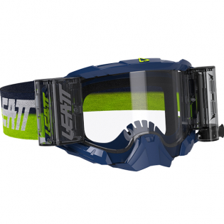 Leatt 5.5 Velocity Ink Clear Lens Roll Off Goggles Image 4