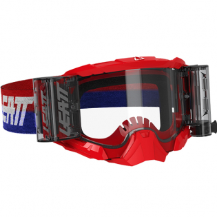 Leatt 5.5 Velocity Red Clear Lens Roll Off Goggles Image 4