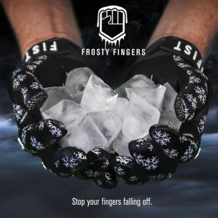 FIST Handwear Frosty Fingers Blackend Gloves Image 2