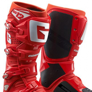 Gaerne SG12 Red Motocross Boots Image 2