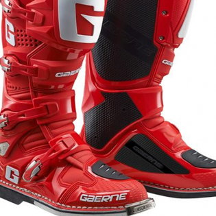 Gaerne SG12 Red Motocross Boots Image 3