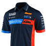 Troy Lee Designs 2020 KTM Team Pit Polo Shirt - Navy
