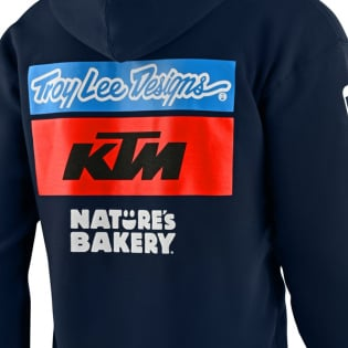 Troy Lee Designs 2020 KTM Pullover Hoody - Navy Image 3