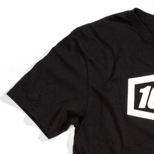 100% Kids Stripes Black T Shirt Image 4