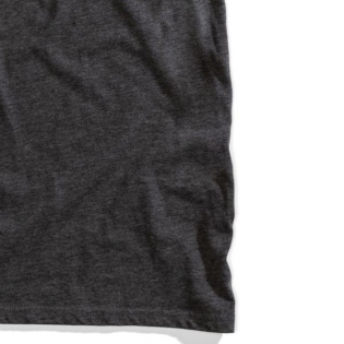 100% Essential Charcoal Heather Bronze T-Shirt Image 4