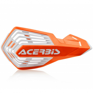 Acerbis X-Future Orange White Handguards Image 2