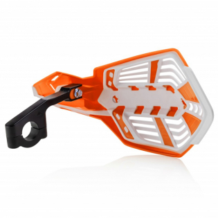 Acerbis X-Future Orange White Handguards Image 3