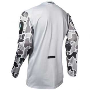 Thor Pulse Air Fire Grey Black Jersey Image 3