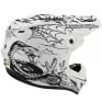Troy Lee Designs SE4 Carbon Le Stranded White Helmet