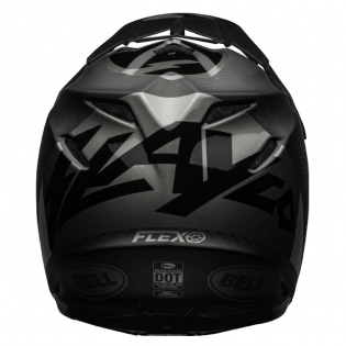 Bell Moto 9 Carbon Flex Slayco Matte/Gloss Black Grey Helmet Image 2