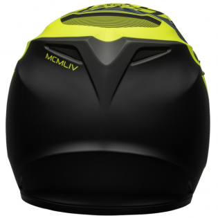 Bell MX9 MIPS Strike Blue Yellow Helmet Image 3