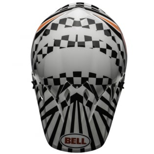 MX9 MIPS Tagger Check Me Out White Black Helmet Image 4