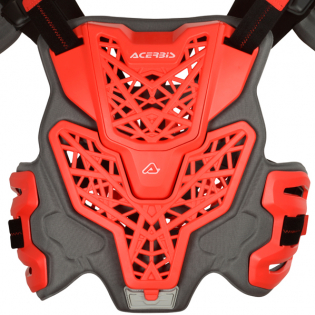 Acerbis Gravity Roost Red Body Armour Image 3