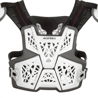 Acerbis Gravity Roost White Body Armour Image 2
