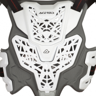 Acerbis Gravity Roost White Body Armour Image 3