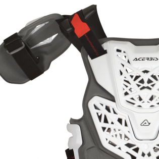 Acerbis Gravity Roost White Body Armour Image 4